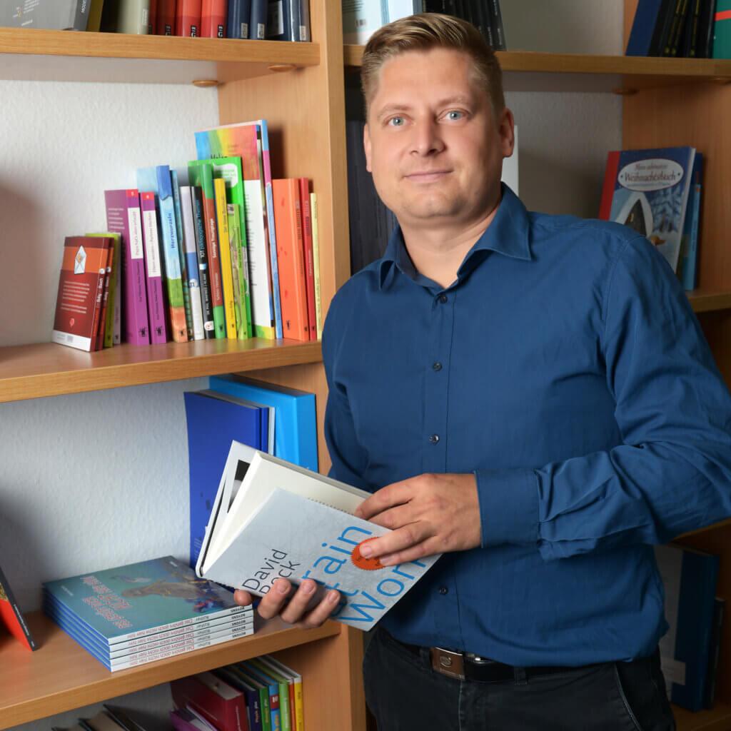 Beltz Mitarbeiter Konrad Topf