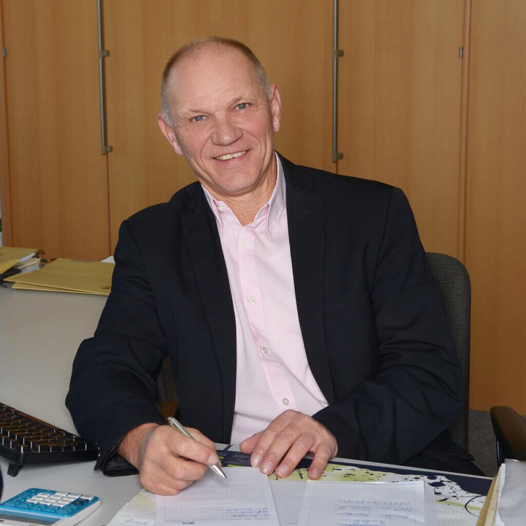 Beltz Mitarbeiter Reinhold Trapp